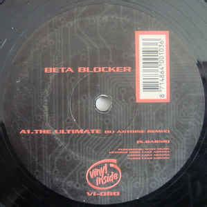 Blockers Release Uk Beta Blocker The Ultimate Vinyl At Discogs
