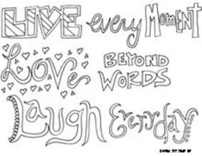 phrase coloring pages quote coloring pages only coloring pages