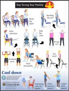 Printable Chair Yoga Routines 1000 Images About Exercises For Older Adults On Pinterest