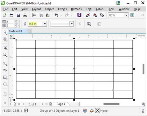 grid layout tool the a to z of coreldraw