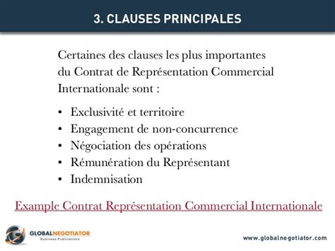 Contrat D Commercial Modèle Contrat Representation Commercial Internationale Mod 232 Le