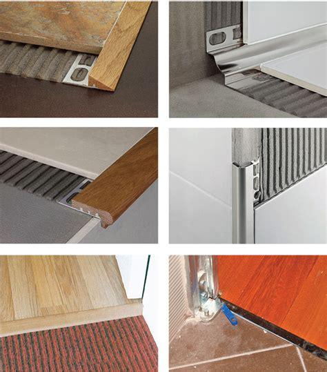 profilo per piastrelle installare i profili per pavimenti bricoportale fai da
