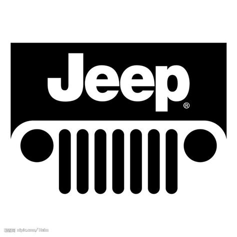 jeep grill drawing jeep seven slot grill jeeps it s clip art google search
