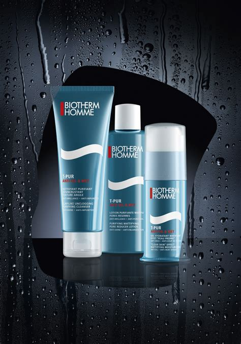 Biotherm Skincare Giftset t pur anti and by biotherm homme da magazine