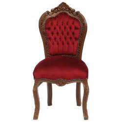 Bench Seat Dining Sets Classy Red Velvet Baroque Dining Room Chair Real Wood