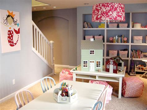 Bedroom Play Ideas by Basement Design Ideas Hgtv