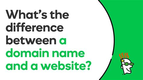 difference   domain    website