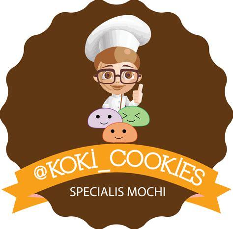 design logo olshop koki cookies dream graphic house