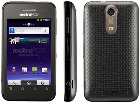 zte score bluetooth music 3g gps android pda phone