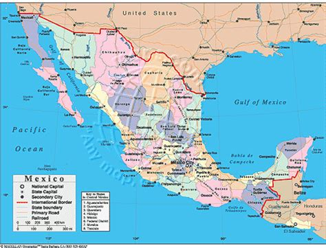 atlas map of mexico mexico map pdf