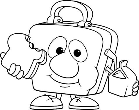 lunch box foods coloring pages lunch best free coloring