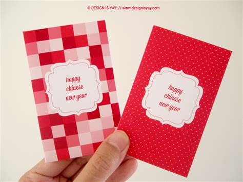 small envelopes for new year printable cny packets mini envelopes design is yay