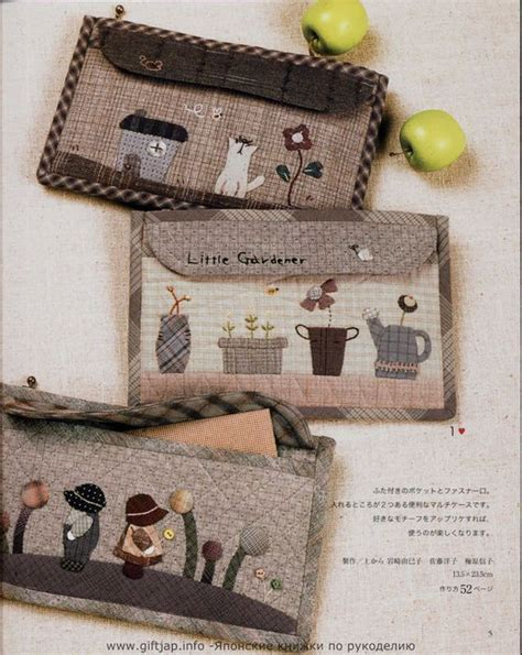Japanese Patchwork Books - japanese book on patchwork bags size patterns