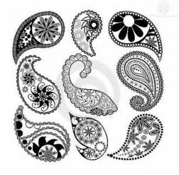 paisley pattern leaves tattoo designs mayo style