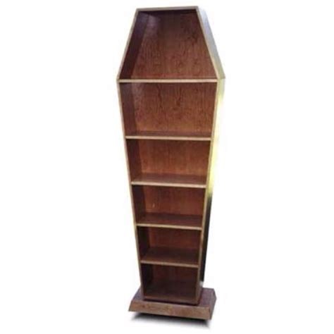 coffin bookshelf