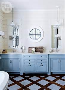 painted bathroom cabinet ideas lake muskoka cottage with coastal interiors home bunch