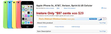 Iphones Sold For Just 99 Cents I Curse Myself For Living In The Uk by Walmart Just Cut The Price Of The Iphone 5c To 97 Cents