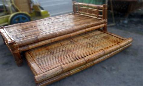 bamboo futon bamboo bed japanese double kawayan republic