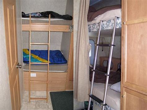 rvs with bunk beds pdf diy rv bunk bed ladder plans download rustic square
