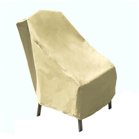 B Q Bistro Chairs Mr Bar B Q 33 In X 28 In X 35 In Patio Chair Cover 07303gd The Home Depot