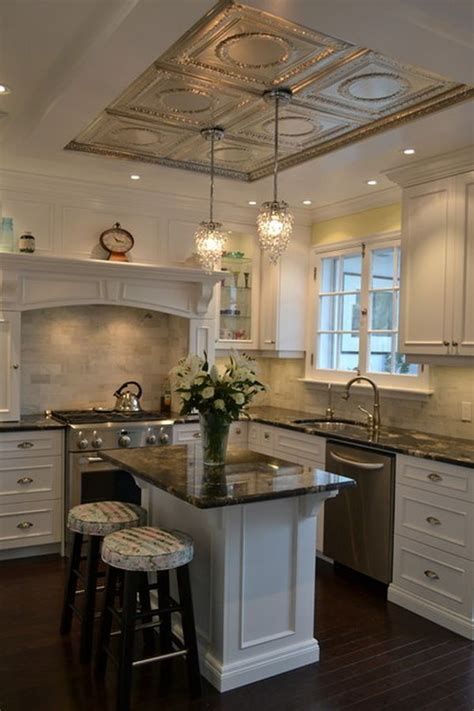 Kitchen Ceiling Coverings by Best 25 Ceiling Tiles Ideas On Basement