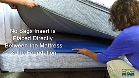Non Sagging Mattress by Sagging Mattress Support Bed Helper Standard No Sags