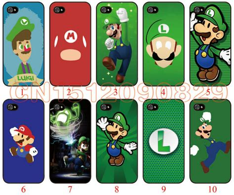 Mario Bros 2 Iphone 5c capa para o iphone 5c r 237 gido pc caso luigi mario