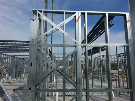 steel frame design exle structural design of light gauge steel summit