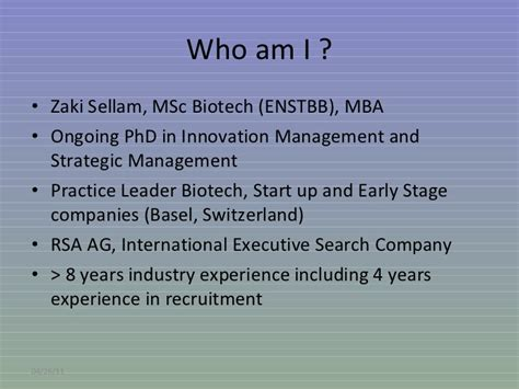Opportunities After Mba In Biotechnology by Evolution Of Pharma Industry And Related Opportunities