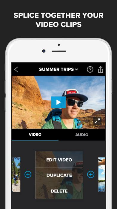 splice editor for android free splice editor maker by gopro app android apk