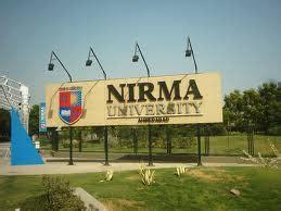 Nirma Mba Entrance by Admission At Nirma