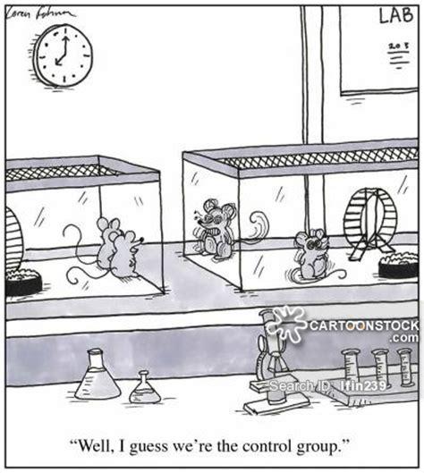 cartoons und karikaturen mit experiment