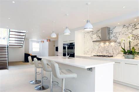 white kitchen idea all white kitchen design ideas