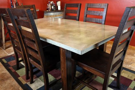 Concrete Dining Room Table by Diy Concrete Dining Table Diy Pete