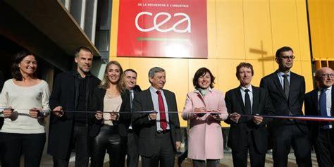 francois jacques cea le cea tech inaugure sa nouvelle plateforme r 233 gionale 224 lab 232 ge
