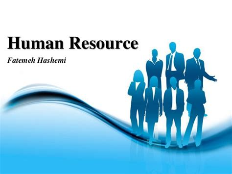 human resources powerpoint template human resource management