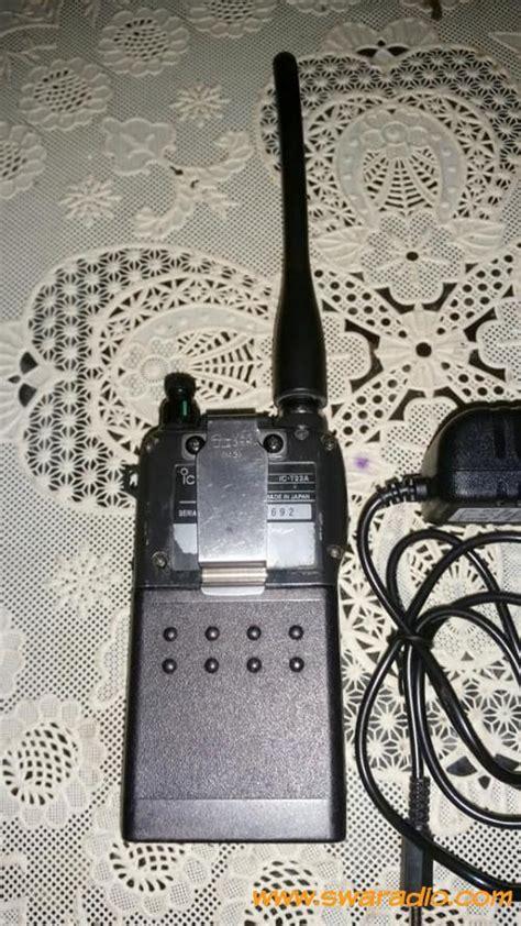 Antena Ht Smp 468 Vhf dijual icom ic t22a vhf ht imut nan mungil bisa monitor