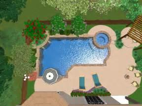 Arizona Backyards 3d Renderings Of Swimming Pool Designs Platinum Pools