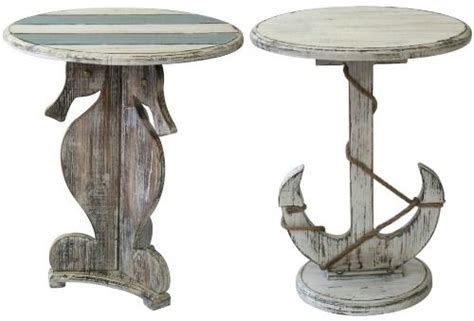 Nautical Side Table Coastal Accent Tables And Side Tables Http Www Completely Coastal 2016 01 Coastal