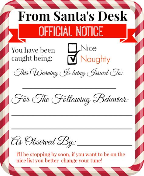 printable elf on the shelf warning letter love laughter foreverafterfree printable elf on the