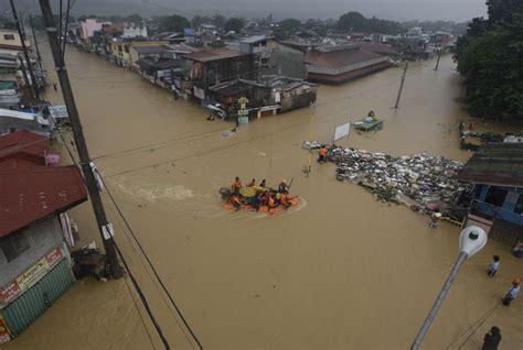 boat shoes in marikina manila ravaged by floods world dawn
