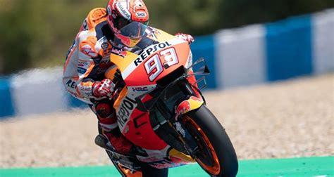 motogp ispanya grand prixsinde marc marquez  oldu