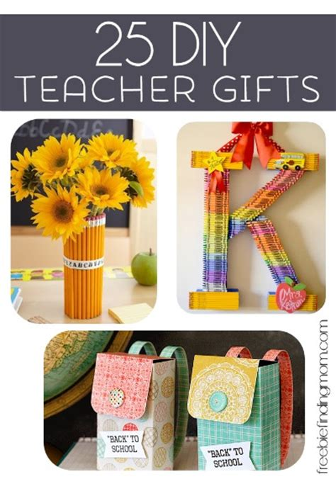 Handmade Gifts For Teachers From Students - 25 diy gifts