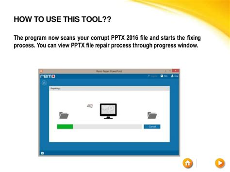 repair powerpoint file fix powerpoint 2016 file in windows