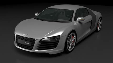 Audi R8 Model audi r8 3d model obj cgtrader