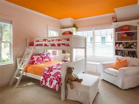 pink and orange bedroom pink and orange bedroom with orange ceiling