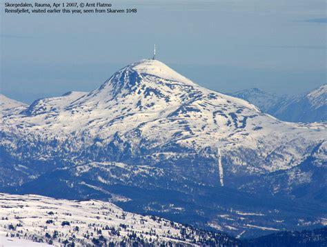 norwegian mountains route descriptions reinsfjellet