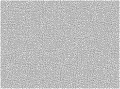 printable impossible maze most difficult maze ever the hardest coloring page in the