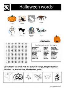 Halloween Words Les Mots D Halloween En Anglais 2eme