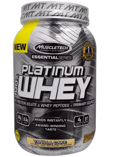 Muscletech Whey Protein Review Muscletech Whey Vanilla Cake My Iherb